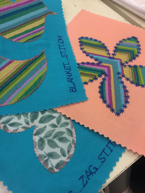 Venture & Roam: Stitch Samples from Craftland Sewing Class for Beginners