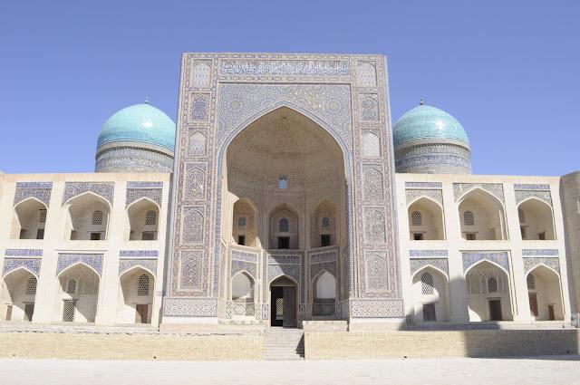 things to see and do in Bukhara Uzbekistan Miri Arab Madrasah