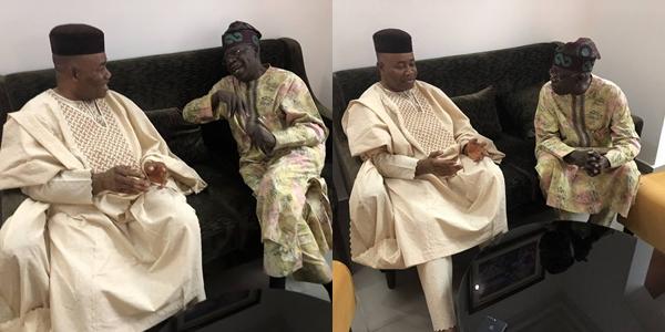 Akpabio visits Tinubu in Abuja, after meeting Buhari in London