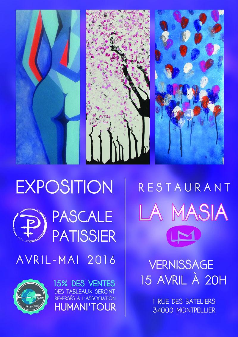 Exposition Pascale Patissier (PP) soutien Humani'tour pour Europ Raid