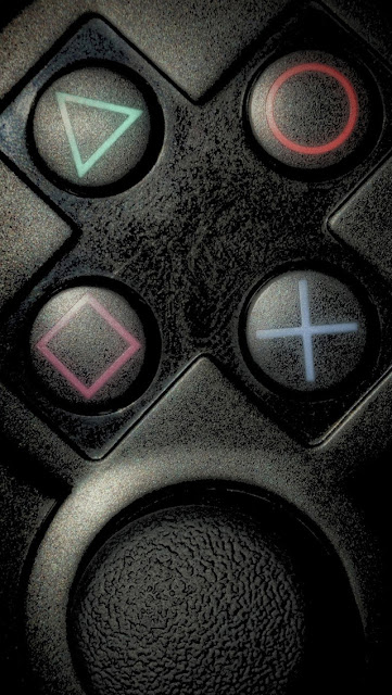 iPhone 5 Wallpaper - PlayStation Buttons
