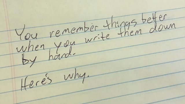 Use Your Handwritten Notes