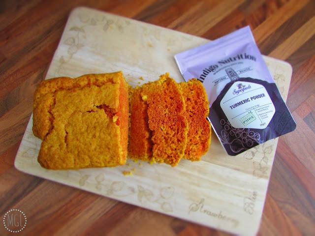 My General Life - Orange and Turmeric Loaf Cake - Indigo Herbs - Vegan