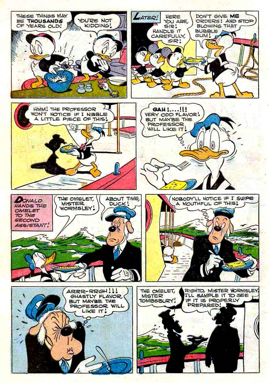 Donald Duck / Four Color Comics v2 #223 - Carl Barks 1940s comic book page art