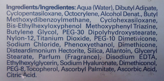 ingredientes Isdin Fusion Fluid