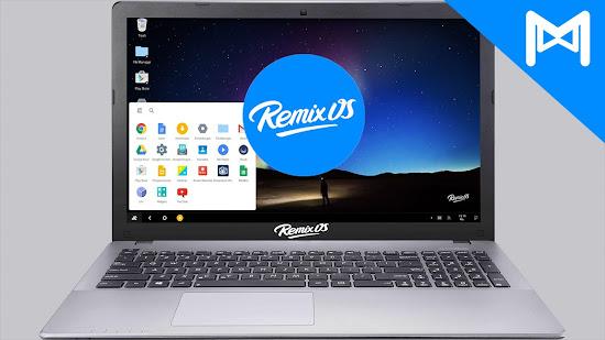 Remix OS UI - Catatan Nizwar ID