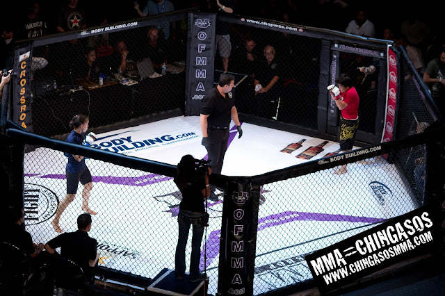 U of MMA Womens Fight