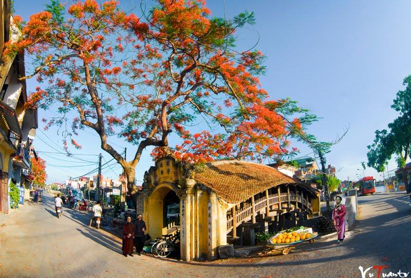 Cầu Ngói - Chợ Lương điểm dừng đầu tiên khi về với mảnh đất Hải Minh