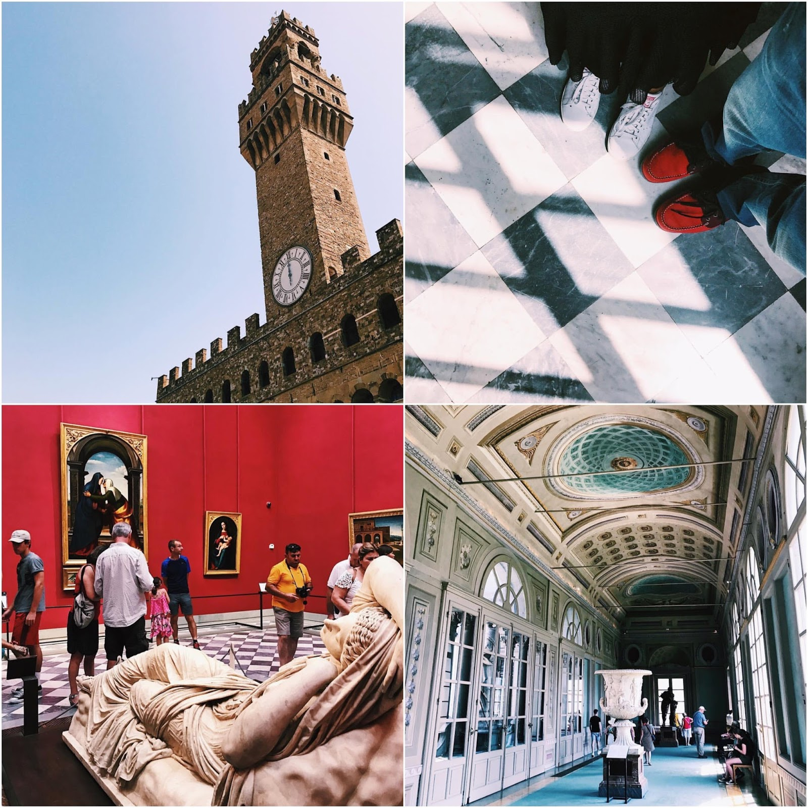 Florence Uffizi Gallery Instagram Pictures