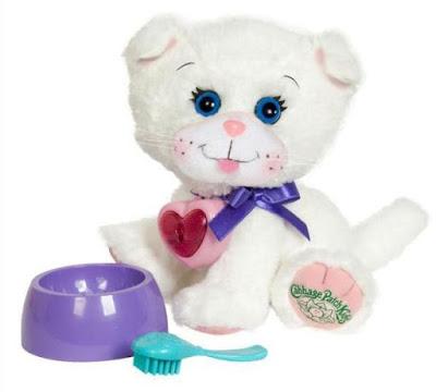 Белый котенок игрушка Adoptimals