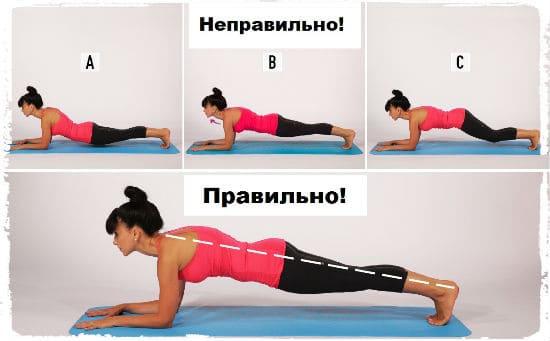 Можно ли похудеть от упражнения планка