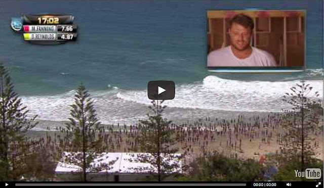 mick fanning quiksilver pro gold coast 2014 ronda 3 video