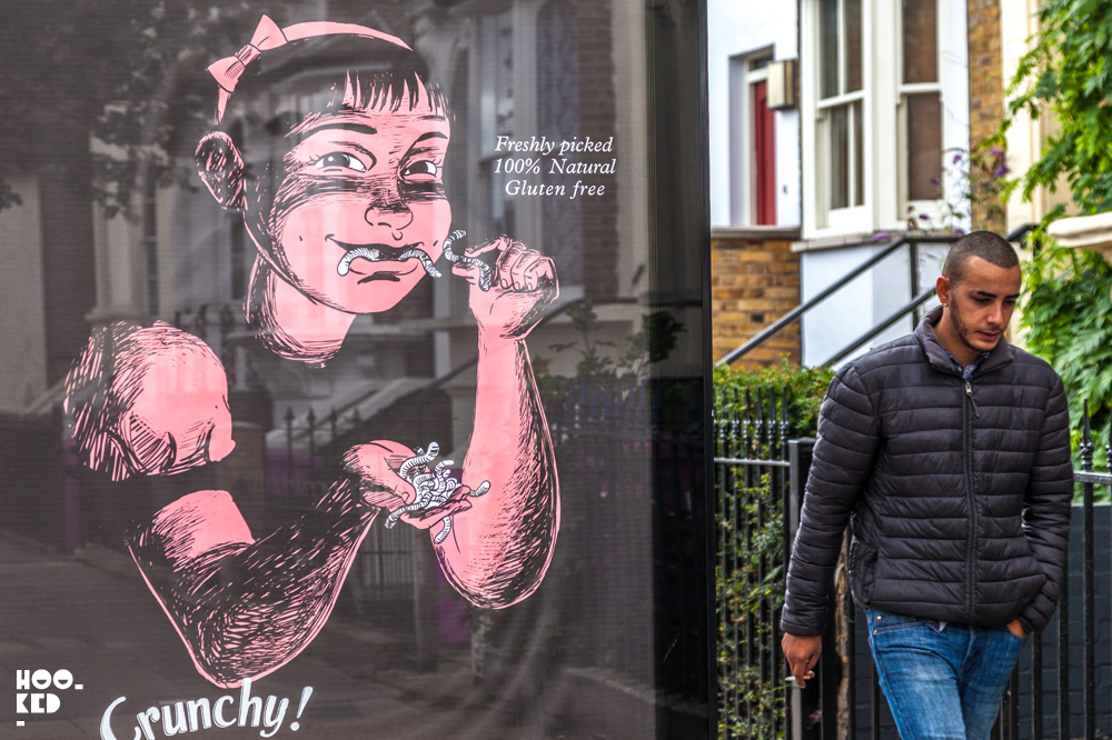 Subvertising with HOGRE & DoubleWhy in London