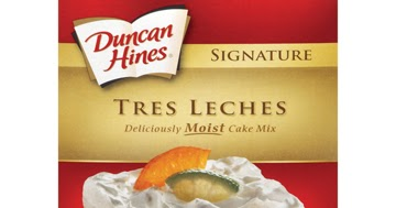 Stylish Bloggeritsa Duncan Hines Tres Leches Cake Mix Review