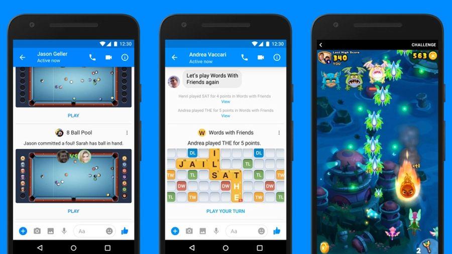 Sekarang semua orang bisa main game di Facebook Messenger