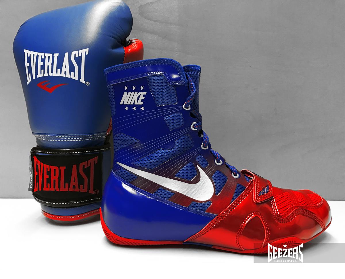 351cc92cbde0 Nike Hyper KO Boot   Everlast Powerlock Boxing Gloves