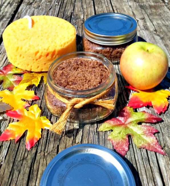 Apple Pie Body Scrub
