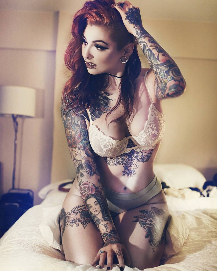 Tattoo models - Baby Compton