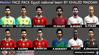 PES 2013 Egypt Facepack by Maddah