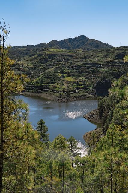Die Top 30 Fotospots auf Gran Canaria  Strand, Natur und Sehenswürdigkeiten Gran-Canaria  Die besten Spots Gran Canaria - Presa de Lugarejos und Presa d