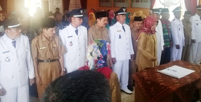 Kepala Dinas DPMD Padang Pariaman Pimpin Sertijab Walinagari se Kecamatan Patamuan
