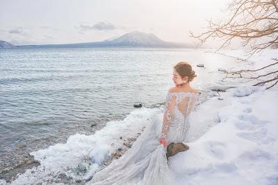 北海道雪景婚紗 世界最美的北海道雪景婚紗 台北海外婚紗推薦