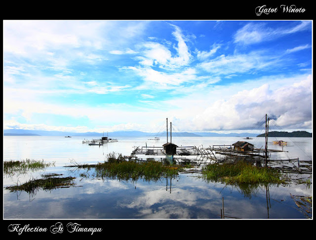 Reflection At Timampu by Gatot Winoto