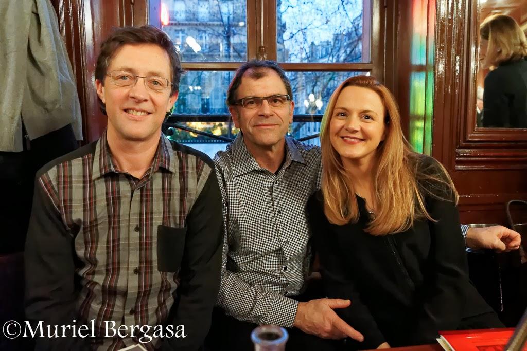 Philippe Müller,  Vincent Vernillat, Carole Aurouet, © Muriel Bergasa