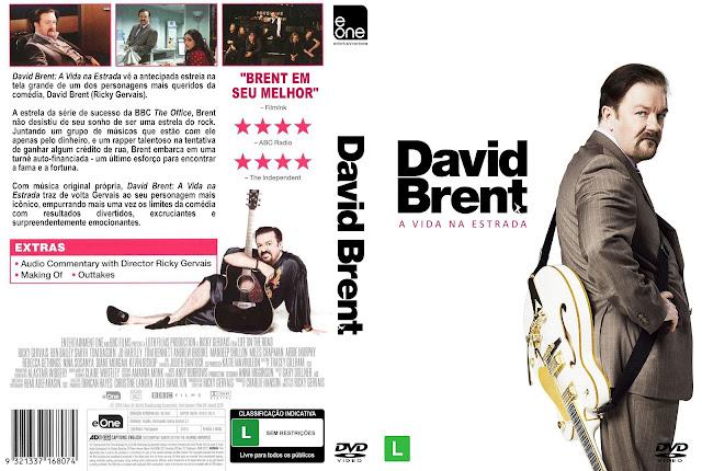 Capa DVD David Brent A Vida Na Estrada [Exclusiva]