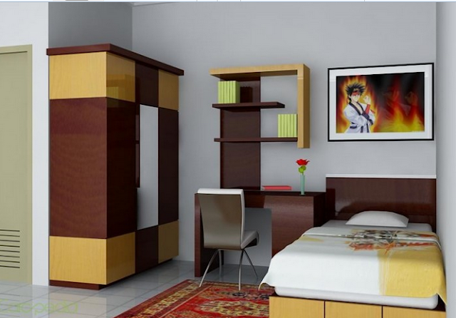 Minimalist Bedroom Design Size 3x4