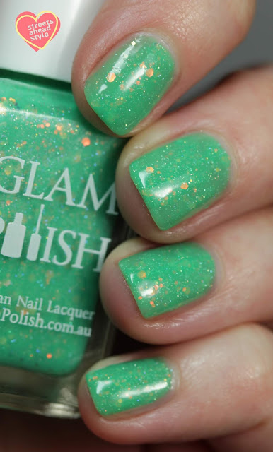 Glam Polish That's A Bowtruckle… Right! 2.0 swatch by Streets Ahead Style