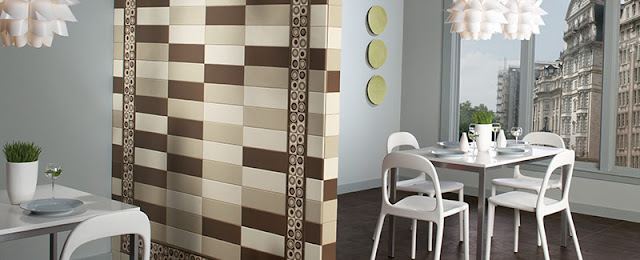 Patterned tiles are versatile and make a bold statement