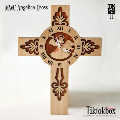 JAM DINDING ANGELICA CROSS