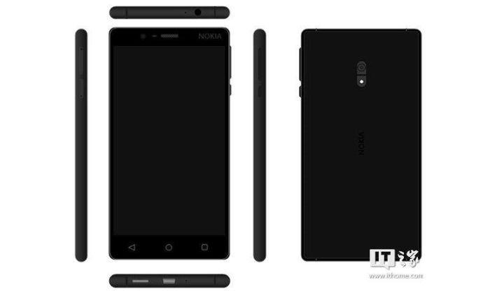 Nokia D1C hitam