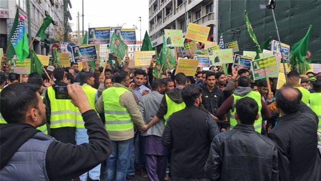 Πορεία Μουσουλμάνων στην Αθήνα με αφορμή τα γενέθλια του Μωάμεθ