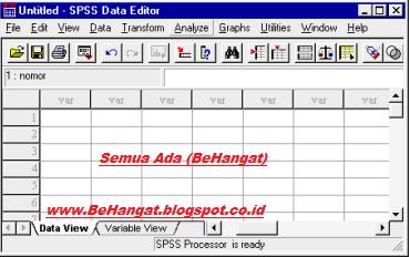 Cara Memulai Menggunakan SPSS - BeHangat.net