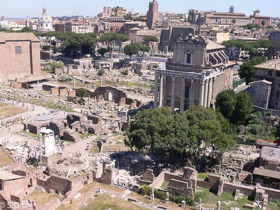 Roma. EL foro romano
