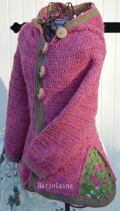 sweterek dla dziecka tutorial