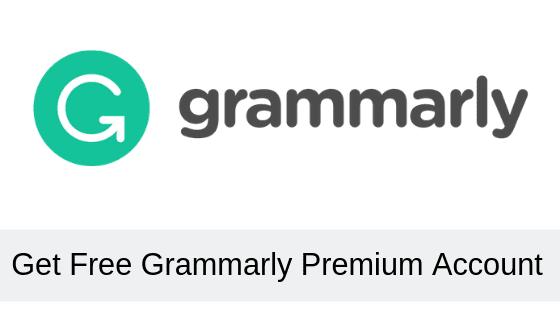 grammarly free account