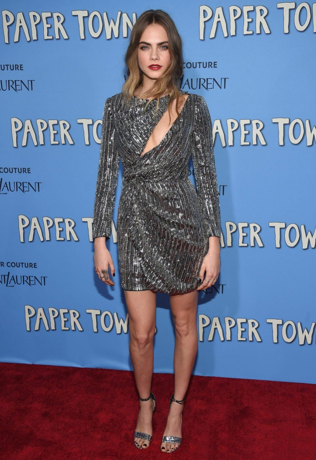 Cara Delevingne – 'Paper Towns' Premiere in New York City, July 2015