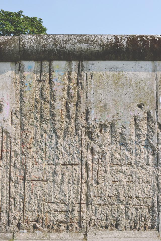 Berlin Wall at Baustrasse