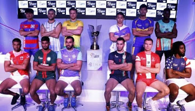 Kabaddi World Cup 2016 Live Stream Online