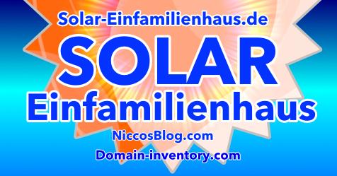 Solar-Einfamilienhaus.de