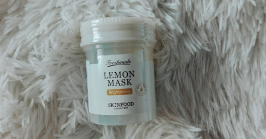 ► [REVIEW] Freshmade Lemon Mask - SKINFOOD