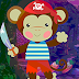Games4King - Menacing Monkey Escape