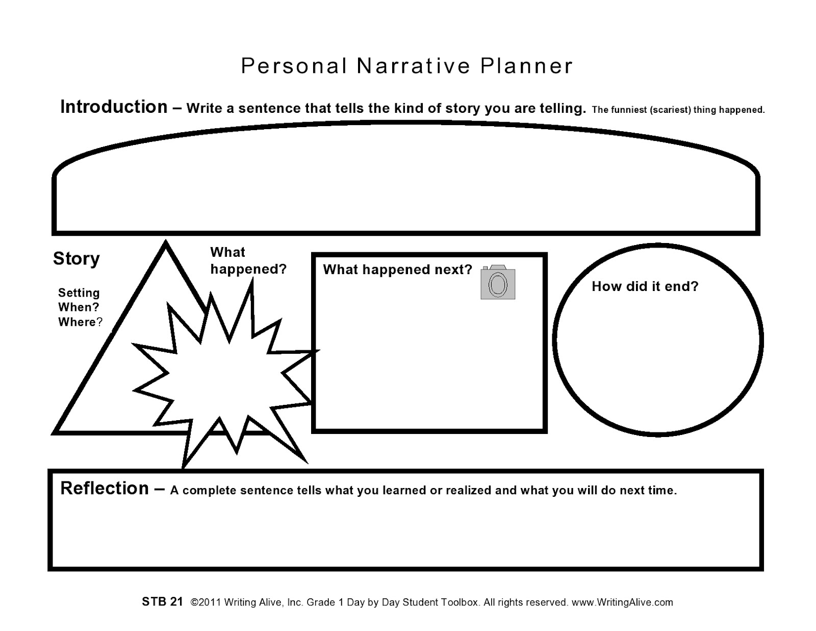 how to write a story planner