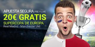 luckia Apuesta segura en el Madrid vs Manchester 8 agosto