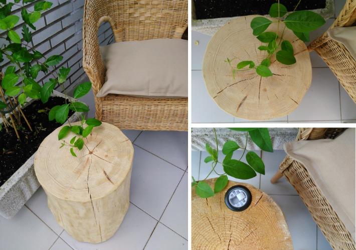 Tronco de madera LUFE ayudaadecorar.blogspot.com.es