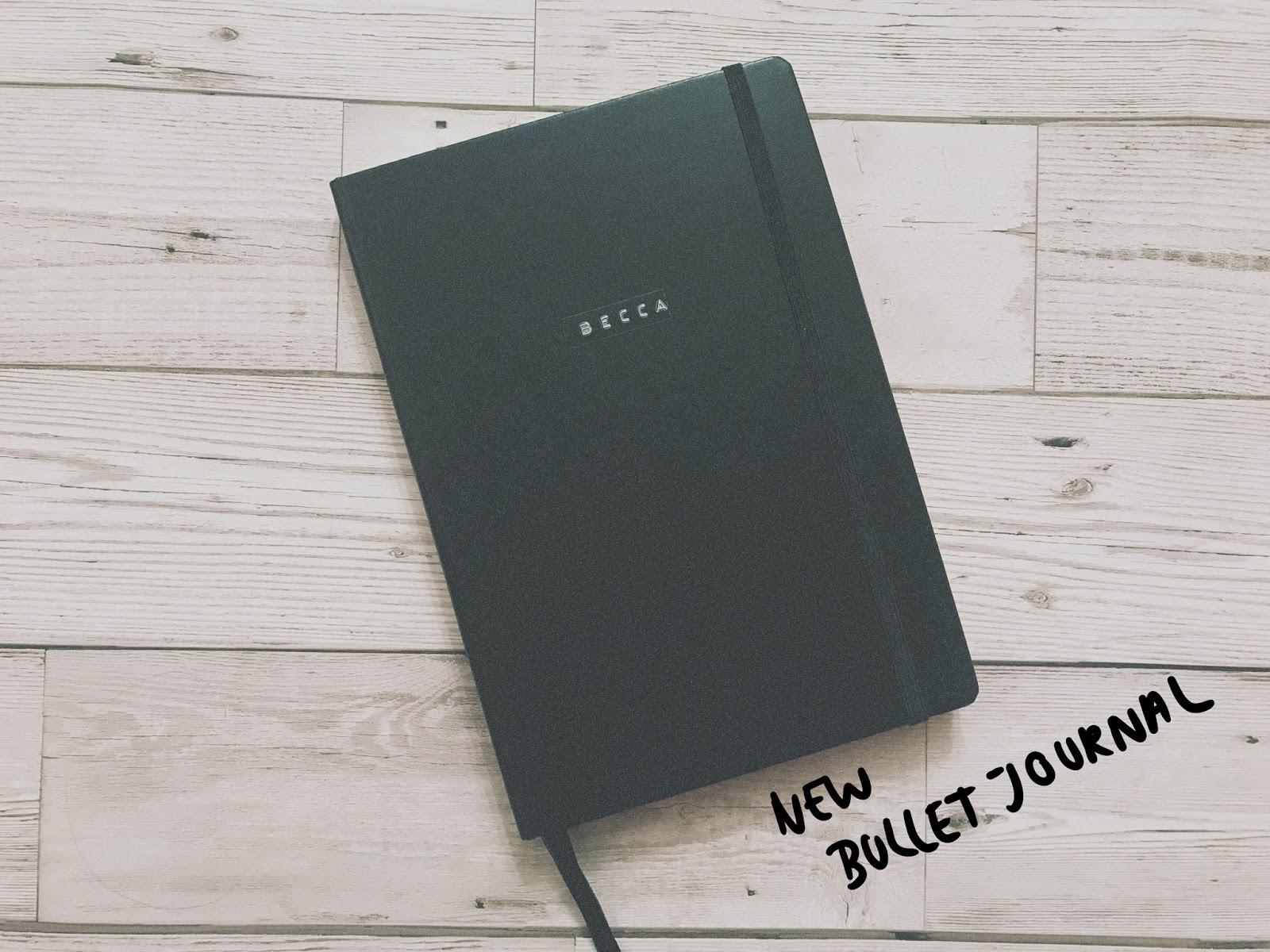 My 2018 Bullet Journal