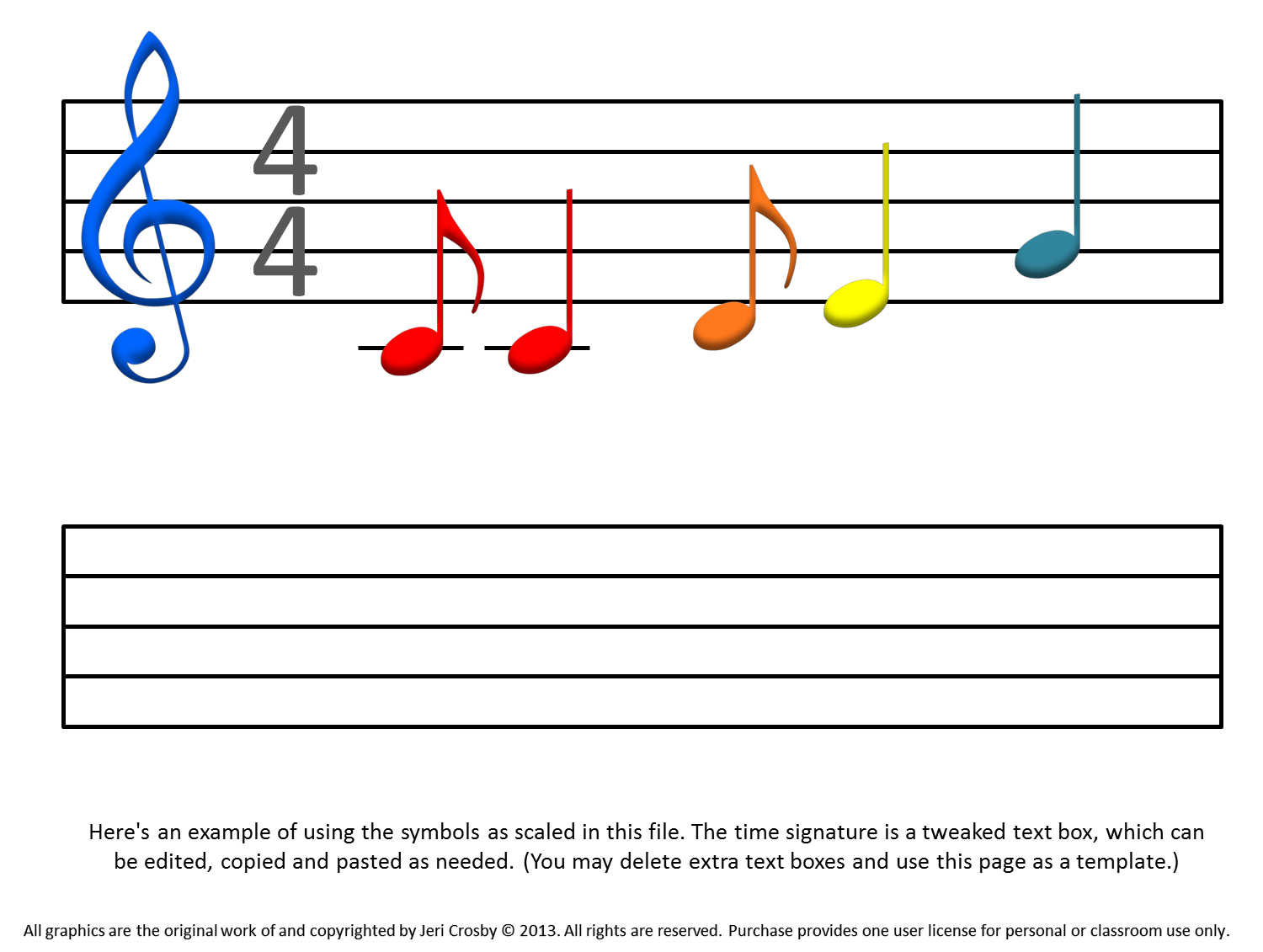 Music Notation Notes Mymusicalmagic Music Notation Solutions Note Able Font